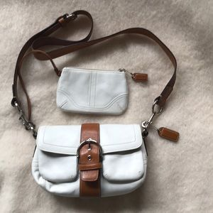 Coach crossbody and little pouch
